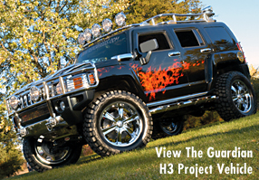 View The Guardian H3 Project Vehicle