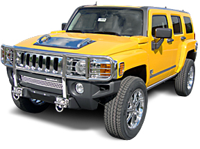 Hummer H3 S S Brush Guard